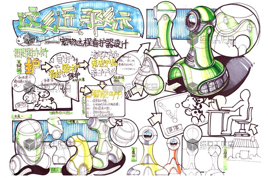 工业设计考研产品手绘范稿——绘友资料共享|生活