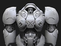 《机枪兵模型制作part-1》