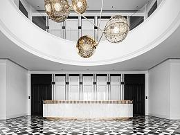古典奢华与现代文明相结合的办公空间