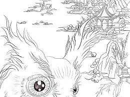 以《妇好鸮尊》背后的故事创作的五个画面