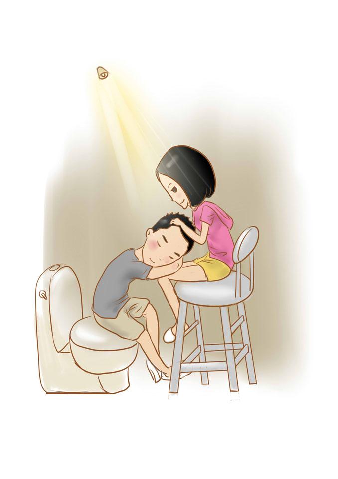 一个漫画生的漫画爱情小小女|短篇/四格漫画|动a漫画梦想用电抄报手图片
