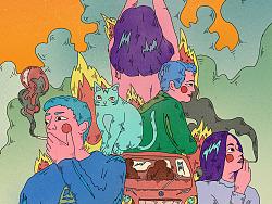 电影插画海报(1)