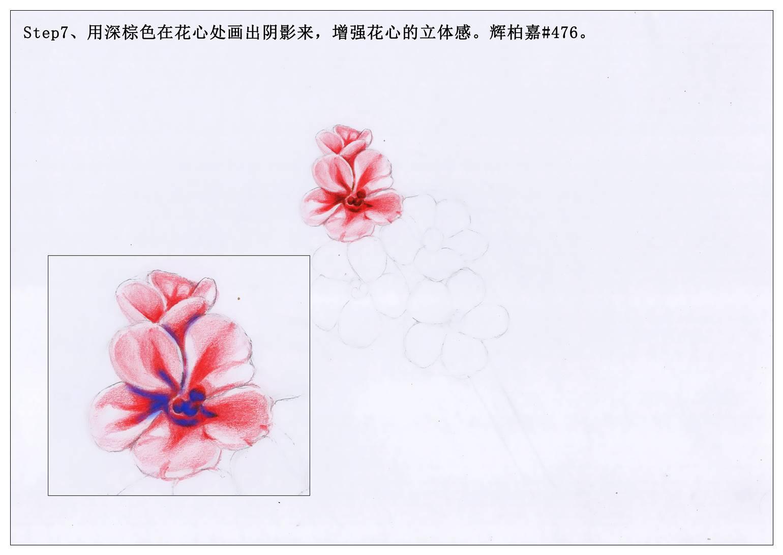 【驴大萌彩铅教程220】手绘古风桃花发簪 - 设计文章图片