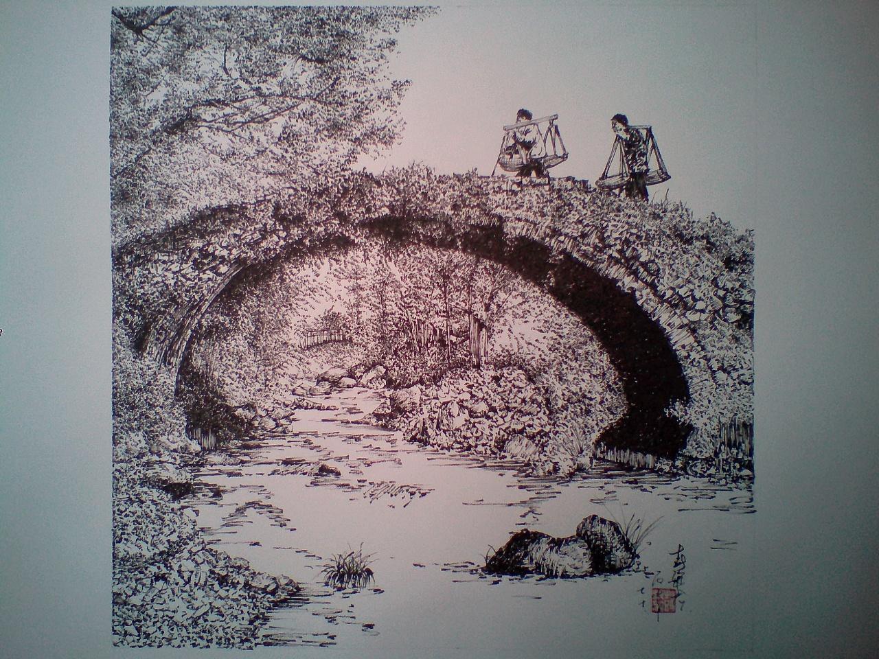 古迹,断桥,便如人生断点