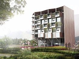 植物大楼方案设计