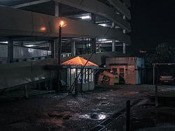 斐济苏瓦港之夜《微光城市》之十一