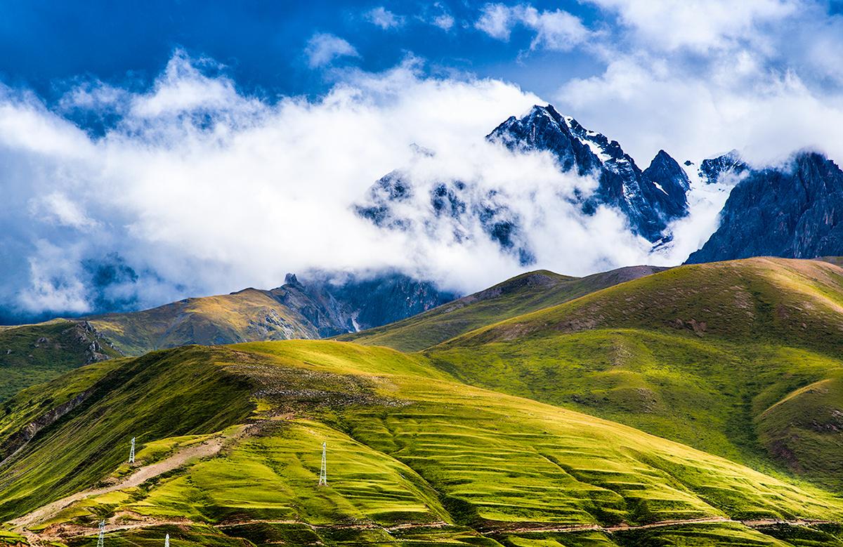 甘孜藏族手绘符号