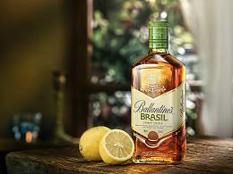 威士忌 洋酒广告摄影 (附布光图及打光思路)