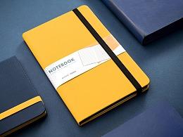 彩色笔记本