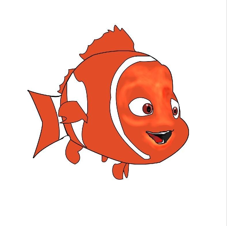 鱼的高清卡通图