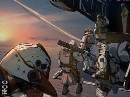 漫画《细细的红线》预告