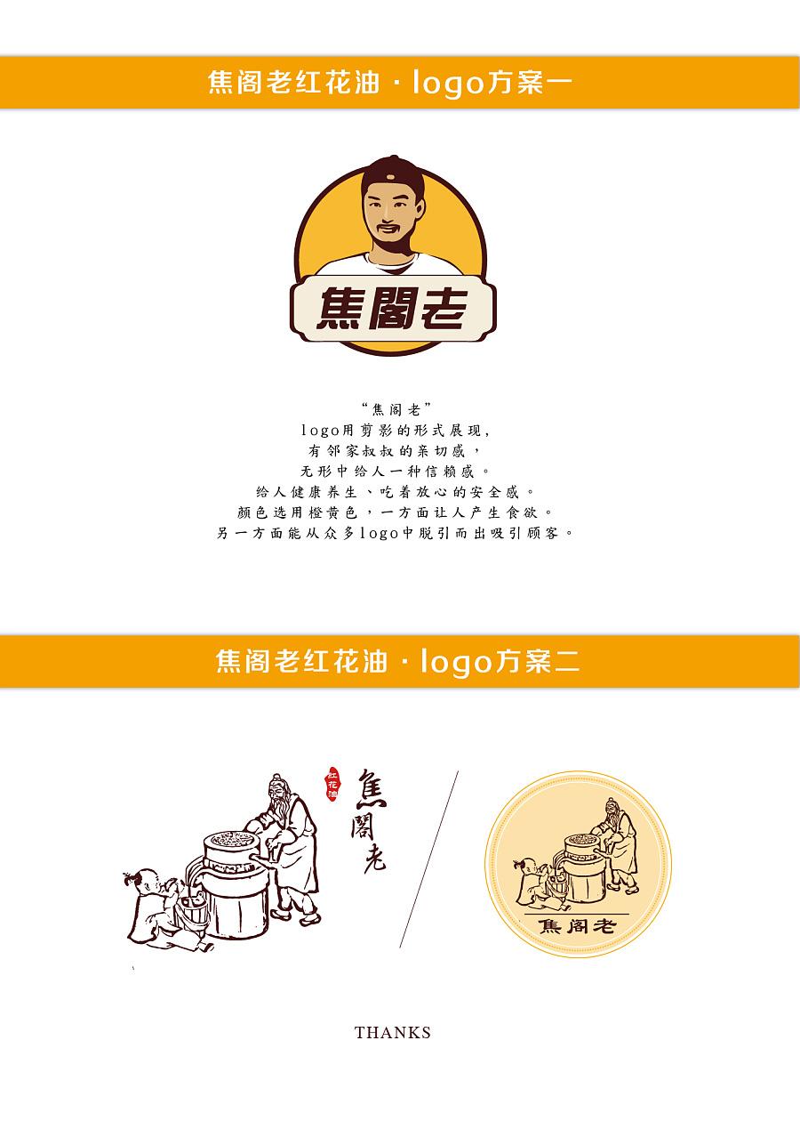 焦阁老红花油logo