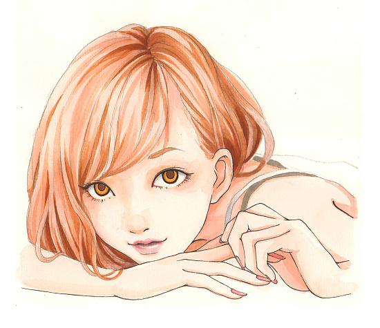 手绘哲:女孩子手绘步骤图(二)