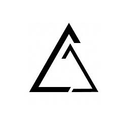 闲来无事设计了一个仿三角形的logo,随意改图片