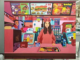《XIN店RED》《XIN店GREEN》《XIN店BLUE》