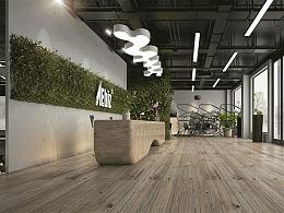 室内设计0基础张同学的办公空间设计作品