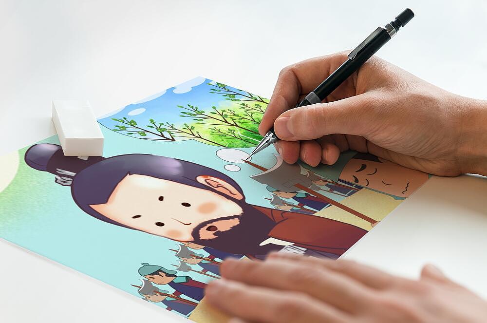 【创意手绘】手绘卡通人物头像 手绘logo手绘插画手绘