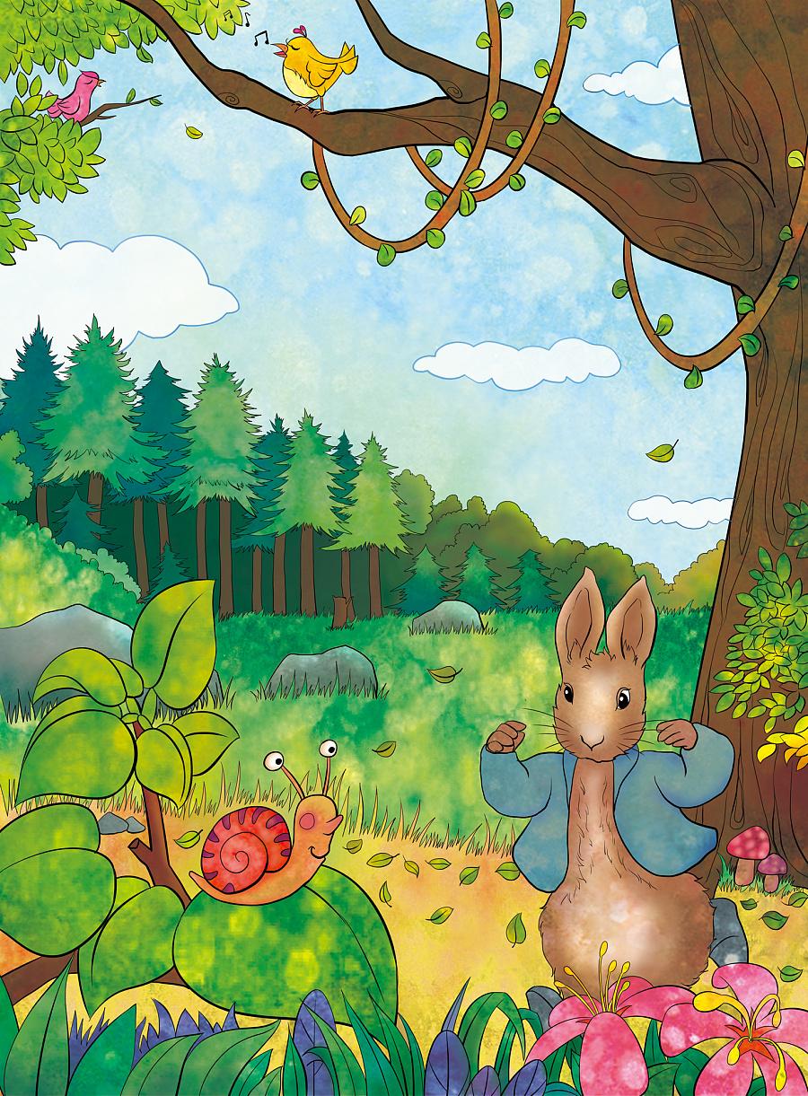 彼得兔裤 彼得兔 男童 裤