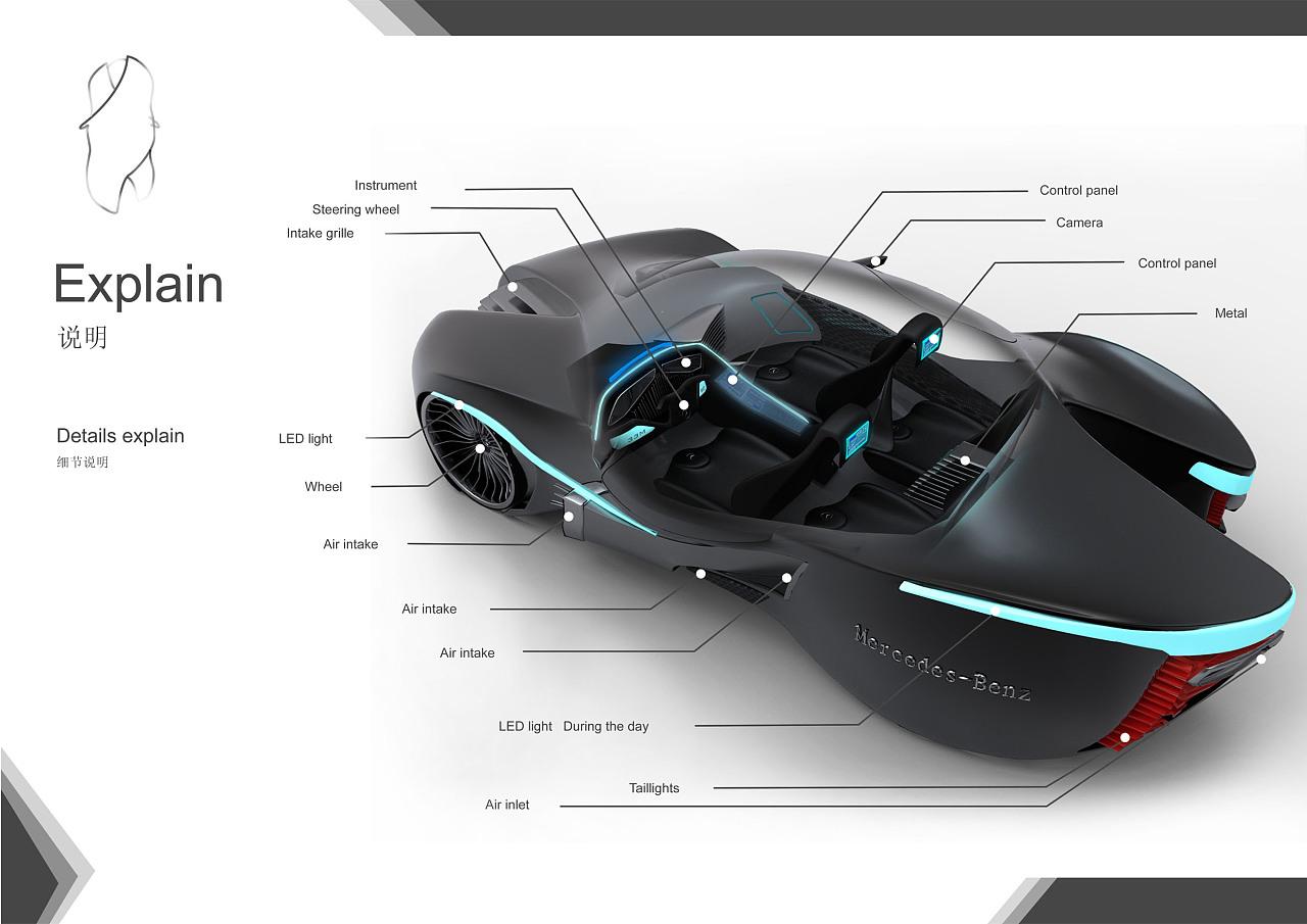 奔驰汽车概念设计
