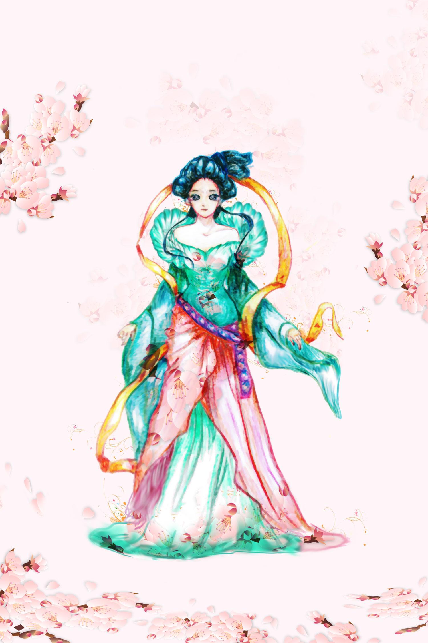 古代美女手绘 (ps修饰)|动漫|单幅漫画|alicedemon