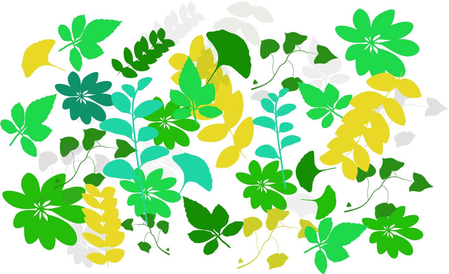 树叶|平面|图案|是啊是啊 - 原创作品 - 站酷 (zcool)图片