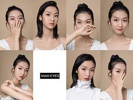 美瞳摄影 | 新加坡 Maxi Eyes