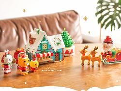 MARD拼豆原创-圣诞小镇