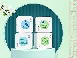 茶叶品牌包装设计-向阳春-鲸奇创意