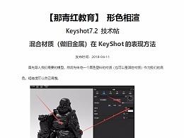 【形色相渲】Keyshot7.2技术贴-旧金属