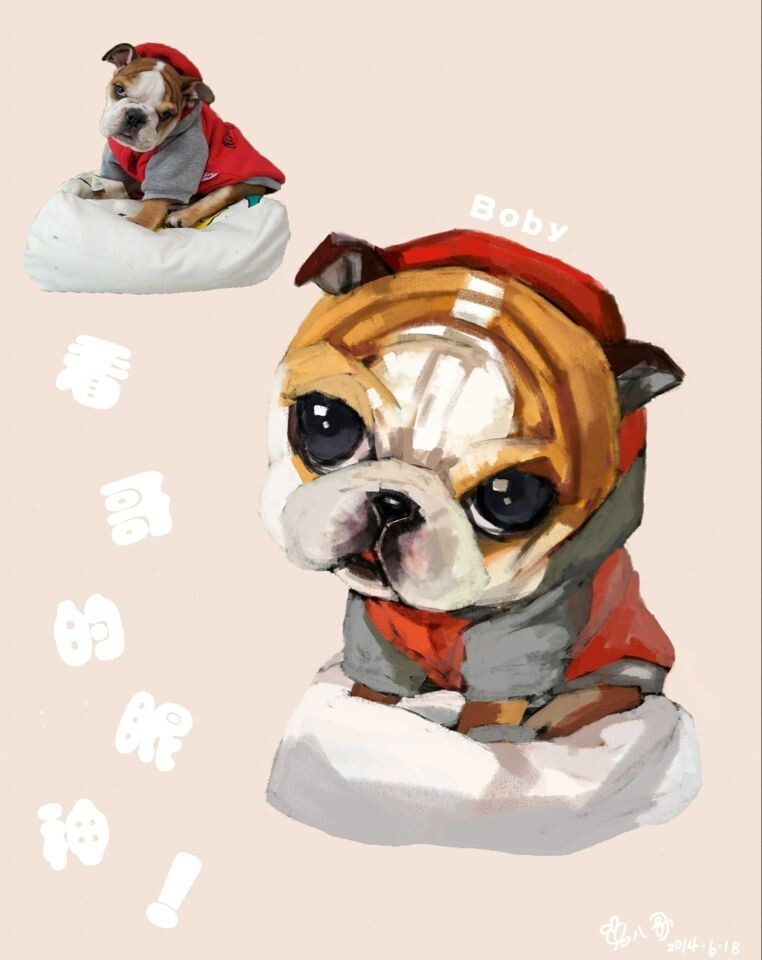 壁纸 动漫 动物 狗 狗狗 卡通 漫画 头像 762_960 竖版 竖屏 手机