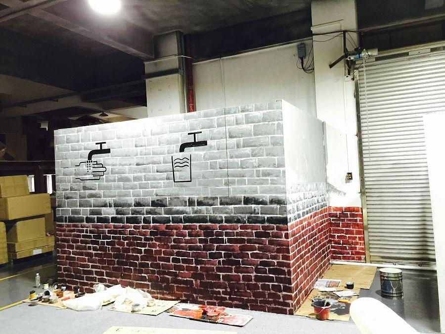 loft砖家,专业绘制|墙绘/立体画|其他|川美墙绘工作室