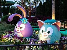 迪士尼小镇之夜景
