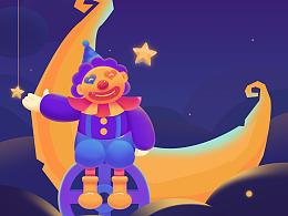 孤独小丑主题图标