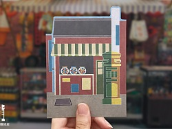 台灣景點主題造型卡片