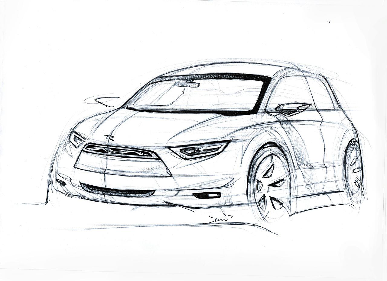 汽车手绘|工业/产品|交通工具|wzd128 - 原创作品