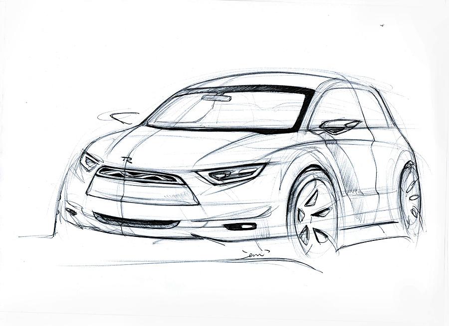 汽车手绘|交通工具|工业/产品|wzd128