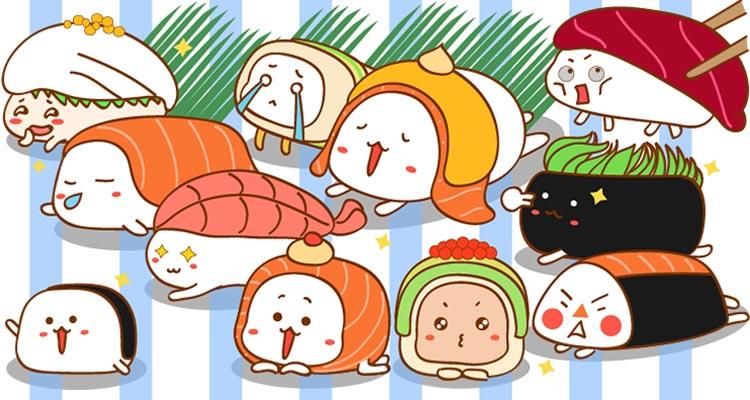 寿司卡通图片大全