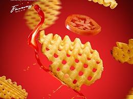 范妮高美食摄影-大碗丼小食系列