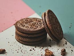 奥利奥饼干丨美食摄影丨静物摄影
