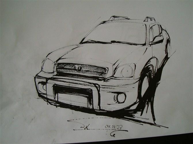 大学时候的手绘