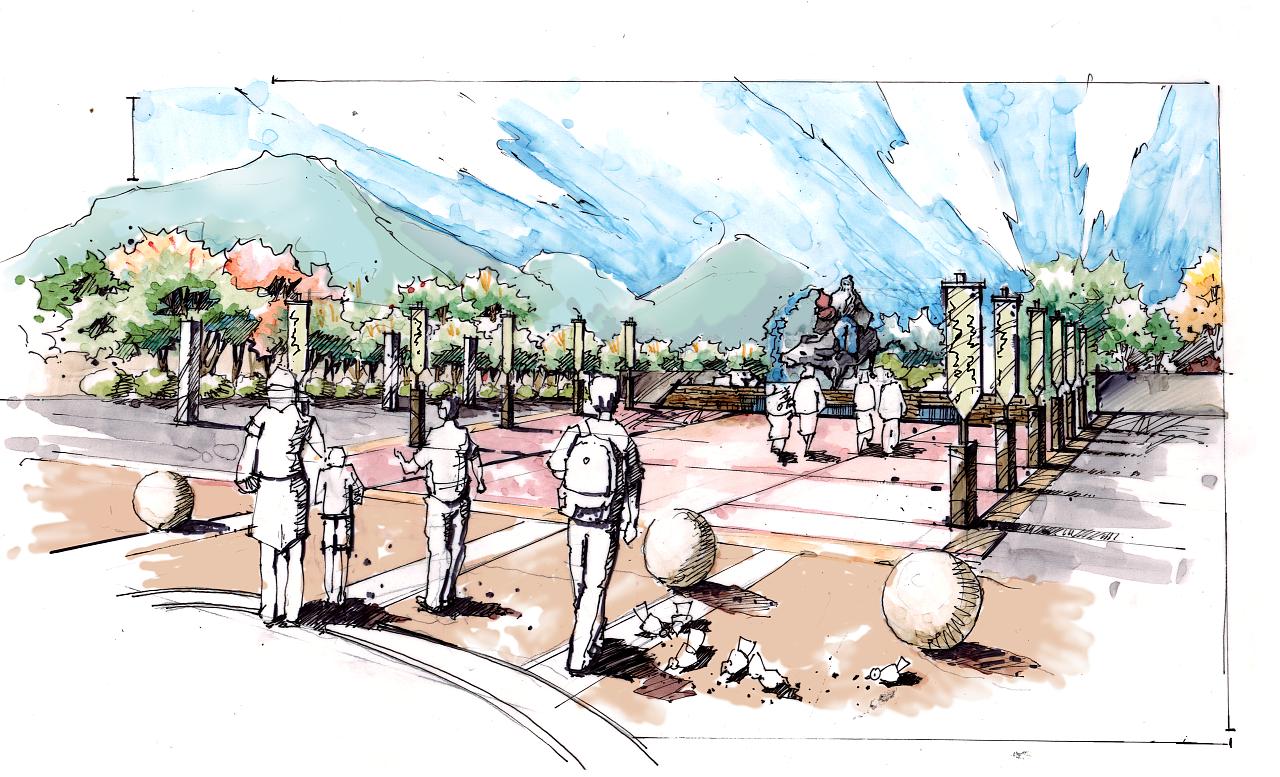 景区设计手绘(2012)