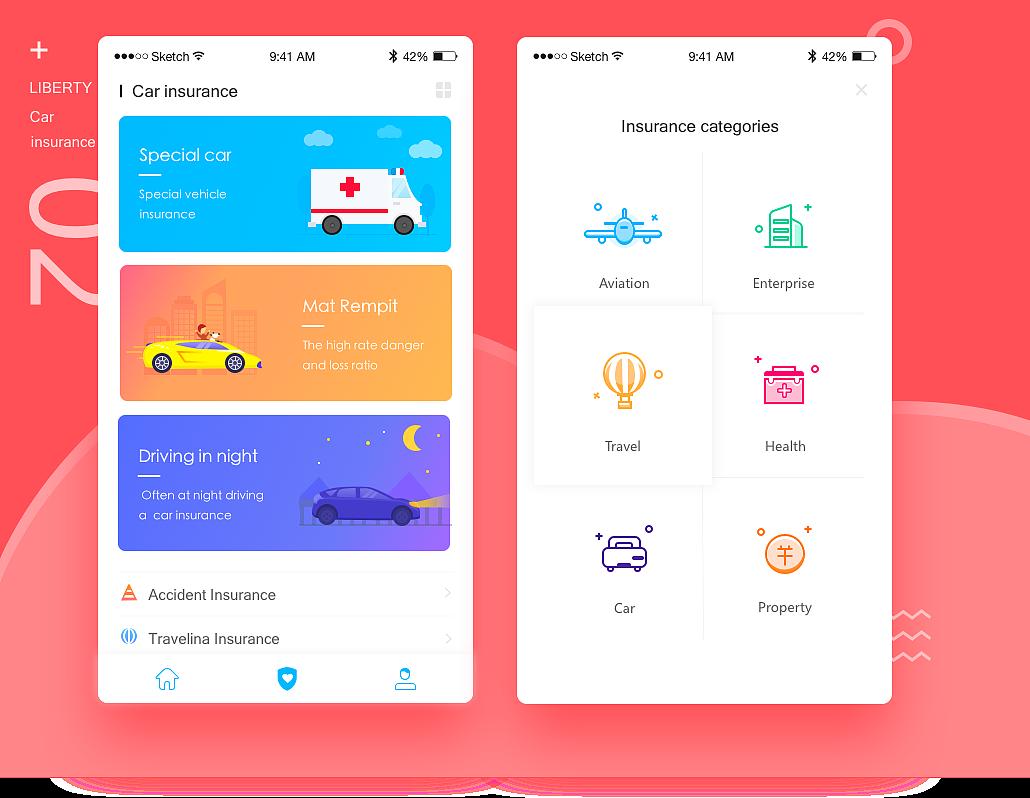 dribbble小练习|ui|app界面|jiqin11 - 原创作品