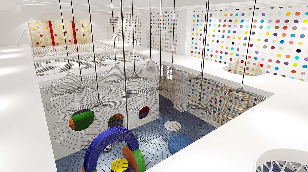设计单位:河南凡舍建筑装饰设计有限公司 项目名称:新乡幼儿园