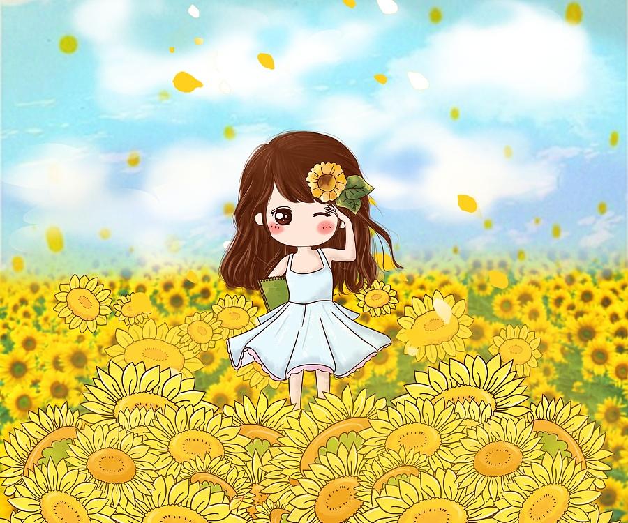 小薇向日葵的v漫画|单幅漫画|世界|小薇的偶像光漫画动漫24图片