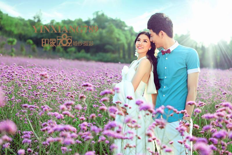 杭州薰衣草婚纱摄影_薰衣草的夏天|人像|摄影|印象789婚纱摄影-原创设计作品-站酷
