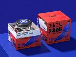 仙乁辣酱品牌设计