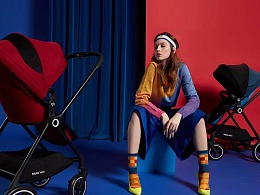 好孩子 / 碳纤维-旋转婴儿车