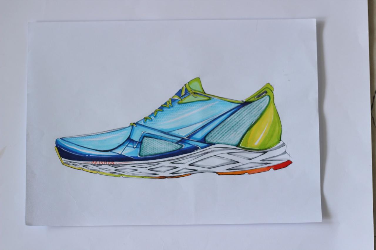 关于运动的手绘图片