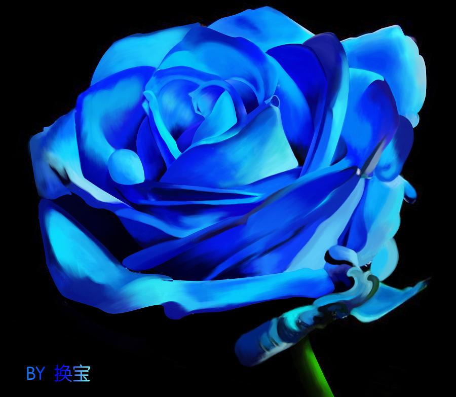 园林妖姬|蓝色模式/背景|UI|傲娇的喵-原创v园林桌面设计公司赚钱壁纸图片