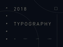 2018 / Typography